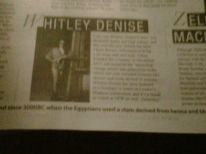 Whitley Denise in Gainesville Times