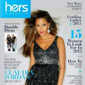 Claudia Jordan in LNC for HERS Magazine